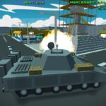 Blocky wars vehicle shooting multiplayer