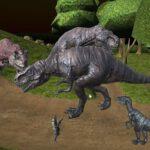 Midnight multiplayer dinosaur hunt