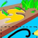 Scribble Grass Cutter