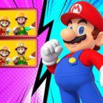 Super Mario Differences Puzzle